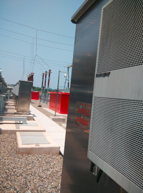 Thermal solution of outdoor electric power cabinet