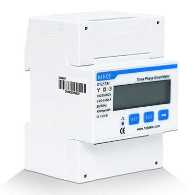 Din Rail Three Phase Meter( CT built-in)